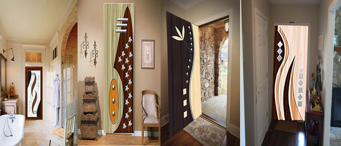 Digital Printed Doors Printed Paper Door And Glow