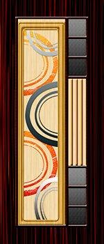 Digital Printed Doors Printed Paper Door And Glow
